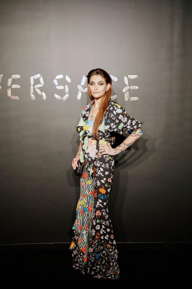 派瑞絲傑克森。圖/Versace提供