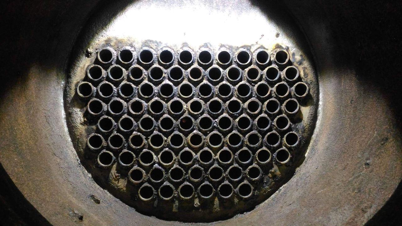 煙管更換後。圖/阿里山林鐵文資處提供