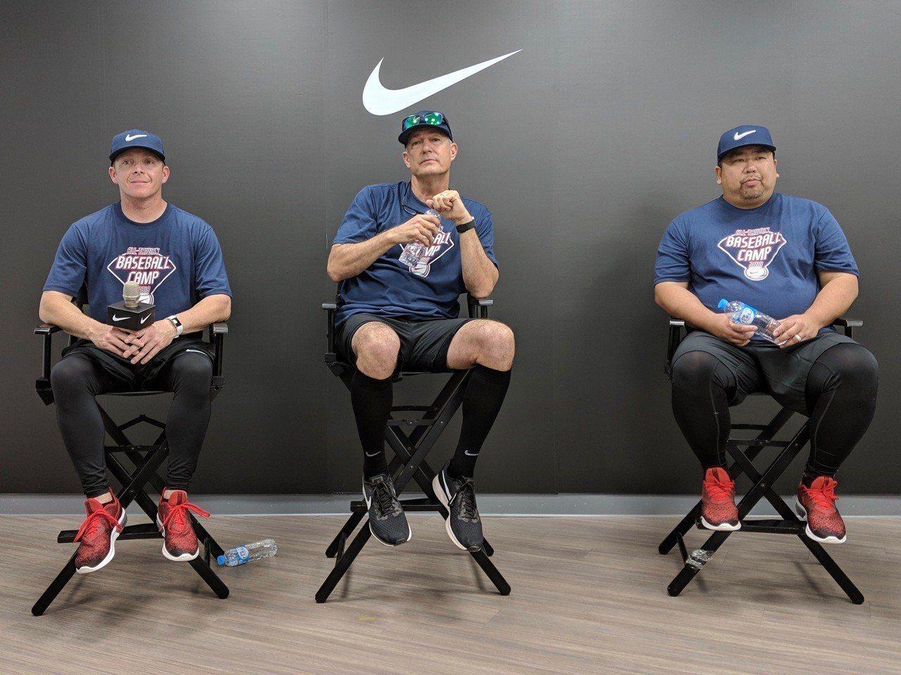 Nike臺灣青棒菁英訓練營開幕,訓練營總監范斯特(Darren Fenster,...