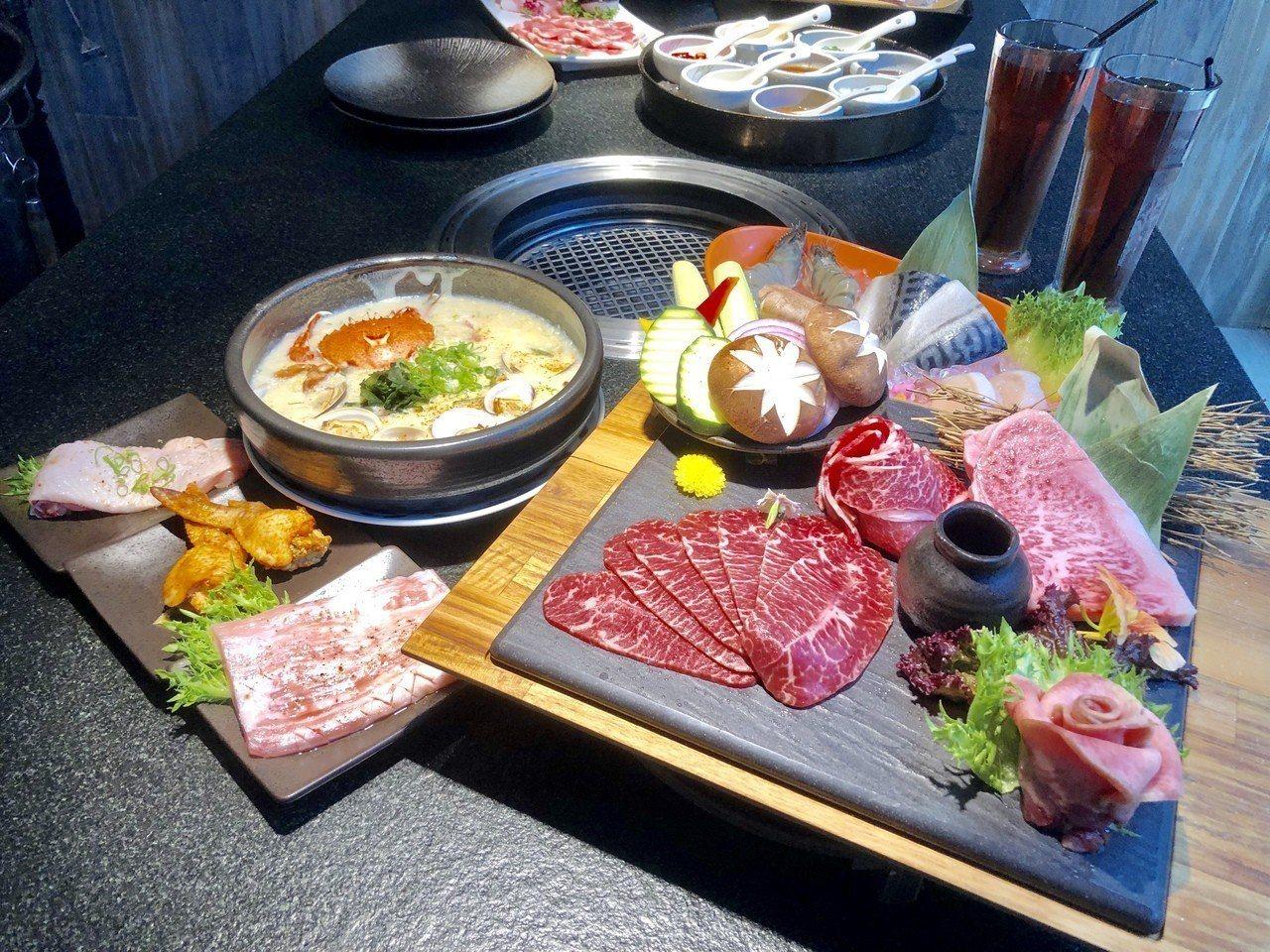 日本A5和牛套餐CP值超高。