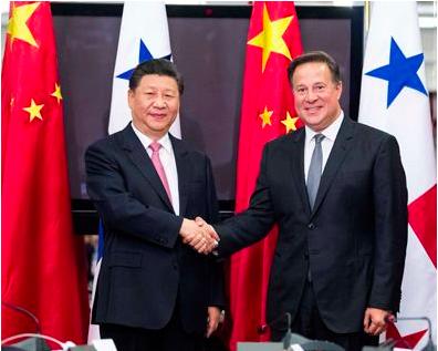 中共國家主席習近平對巴拿馬總統巴雷拉表示,中方高度讚賞巴拿馬在台灣等涉及中國核心...