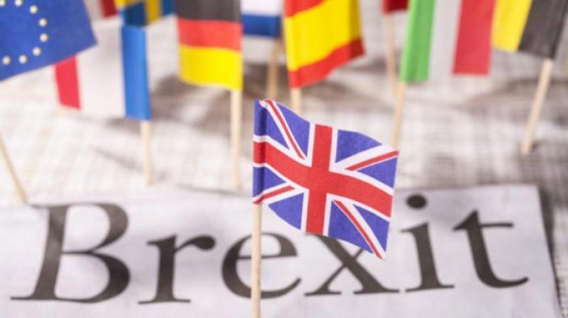 英國距離脫歐最終期限僅剩不到120天。法新社