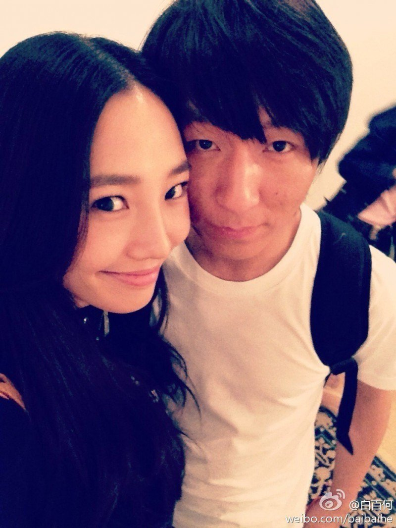 白百何(左)與陳羽凡(右)曾有一段婚姻。圖/摘自微博