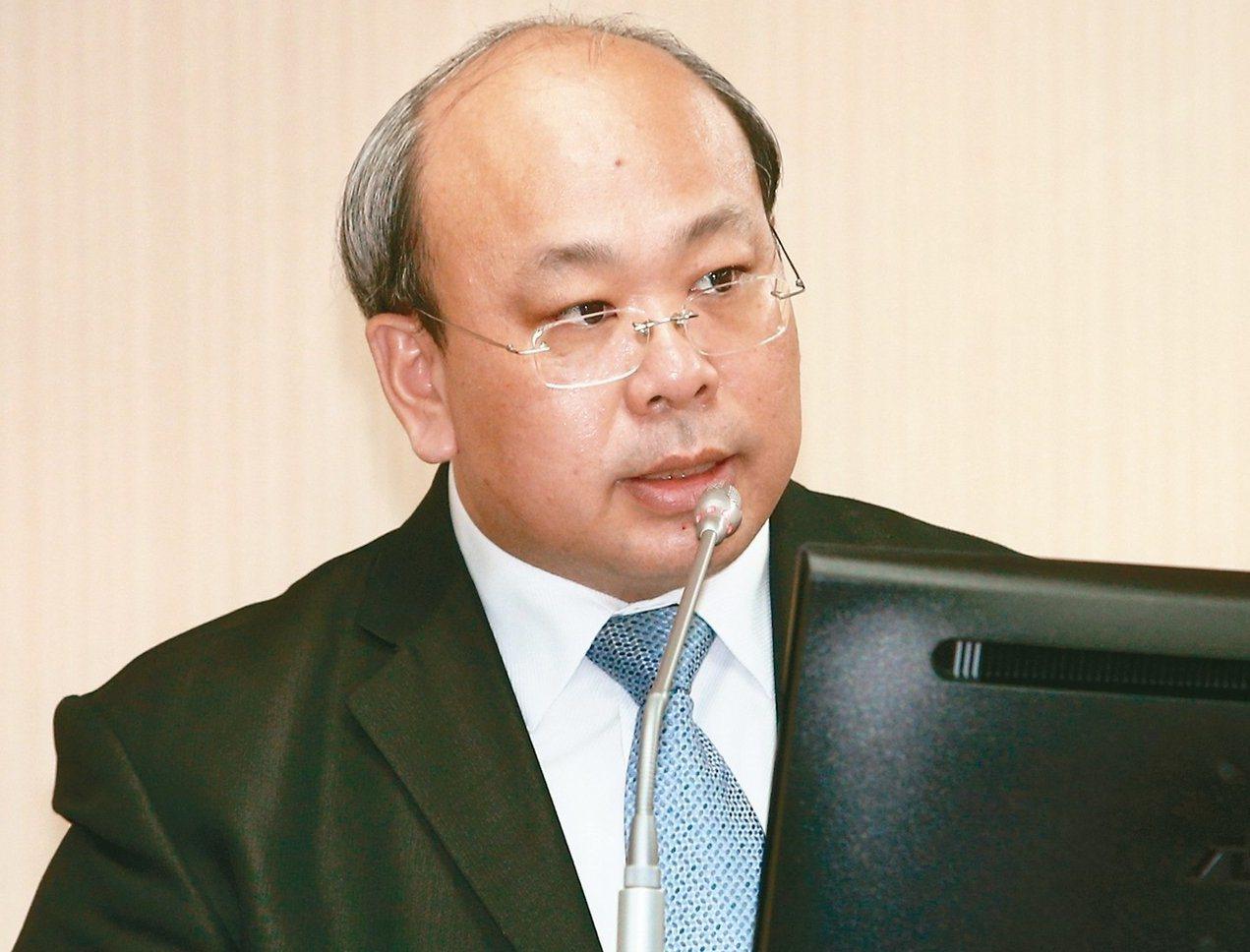 中選會代主委陳朝建。圖/報系資料照片