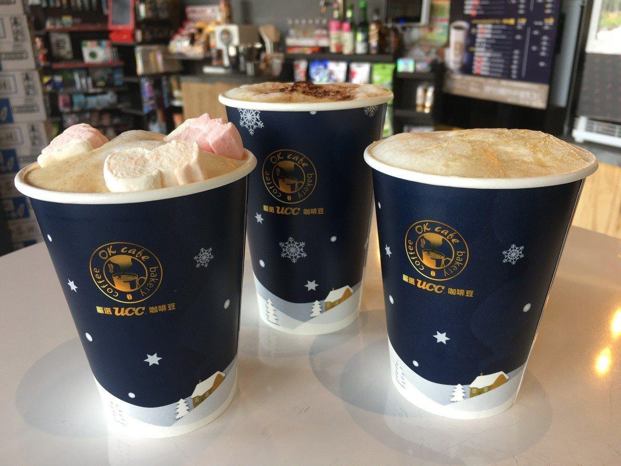 OK mart今年與UCC合作推出醇品咖啡系列,共有醇品拿鐵、醇品摩卡、醇品焦糖...