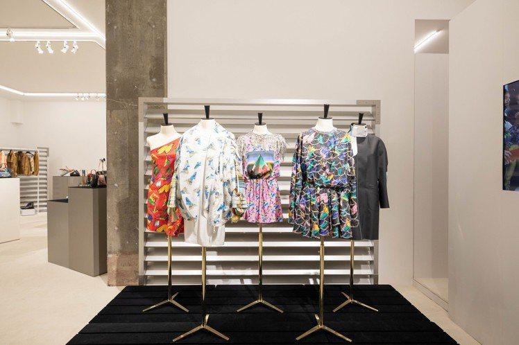 路易威登在東京品川區藝術空間發表2019春夏女裝。圖/LV提供