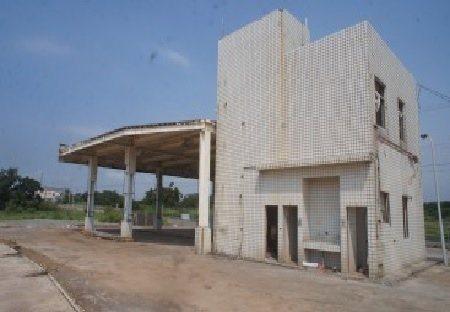 新屋區1間加油站以808萬元法拍賣出。圖/行政執行署提供