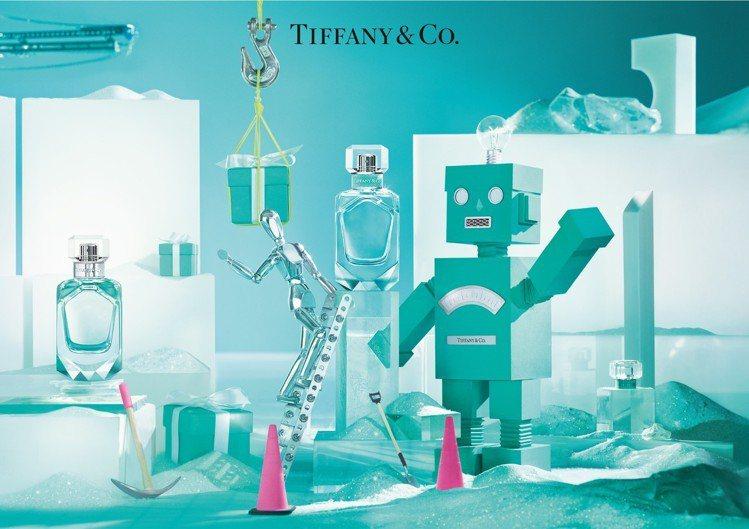 Tiffany & Co.晶鑽香氛概念店則換上耶誕節全新機器人視覺,將於12月2...