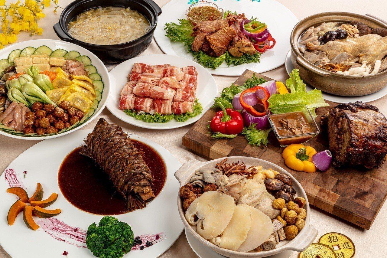 福容大飯店各分店主廚手路菜齊發,開春作伙品嘗星級年菜。