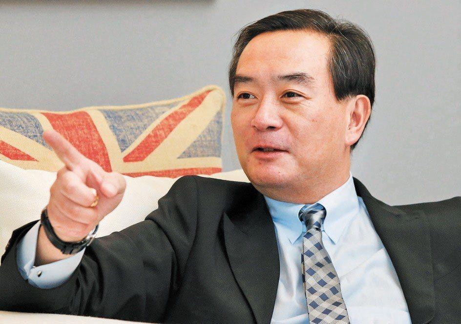 裕隆集團董事長嚴凱泰。 聯合報系資料照