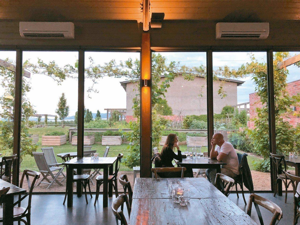 Meletos酒莊有如Kinfolk經典文青風格般的空間與美感。 記者錢欽青/攝...