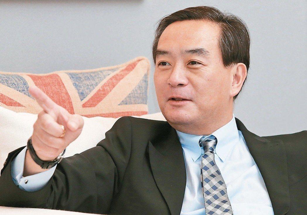 裕隆集團執行長嚴凱泰因食道癌病逝,享年54歲。 圖/聯合報系資料照片