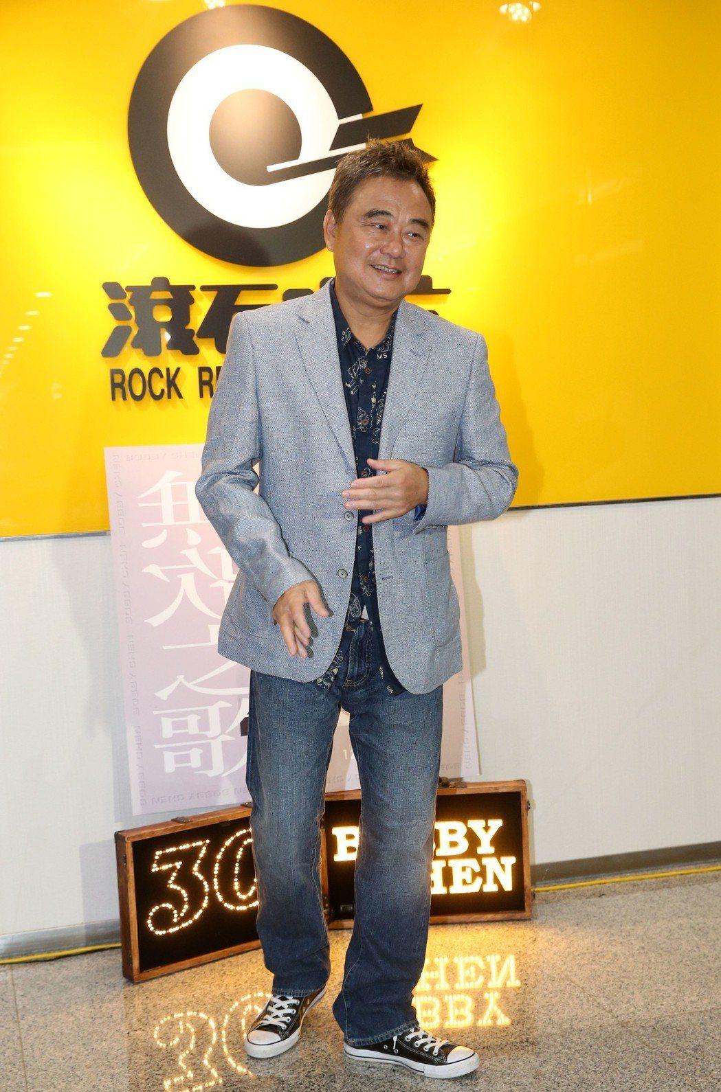 陳昇「無歌之歌」新專輯發表。記者林俊良/攝影