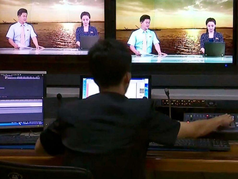 KCTV在金正恩一聲令下積極進行轉型,力求現代化。 圖/取自KCTV