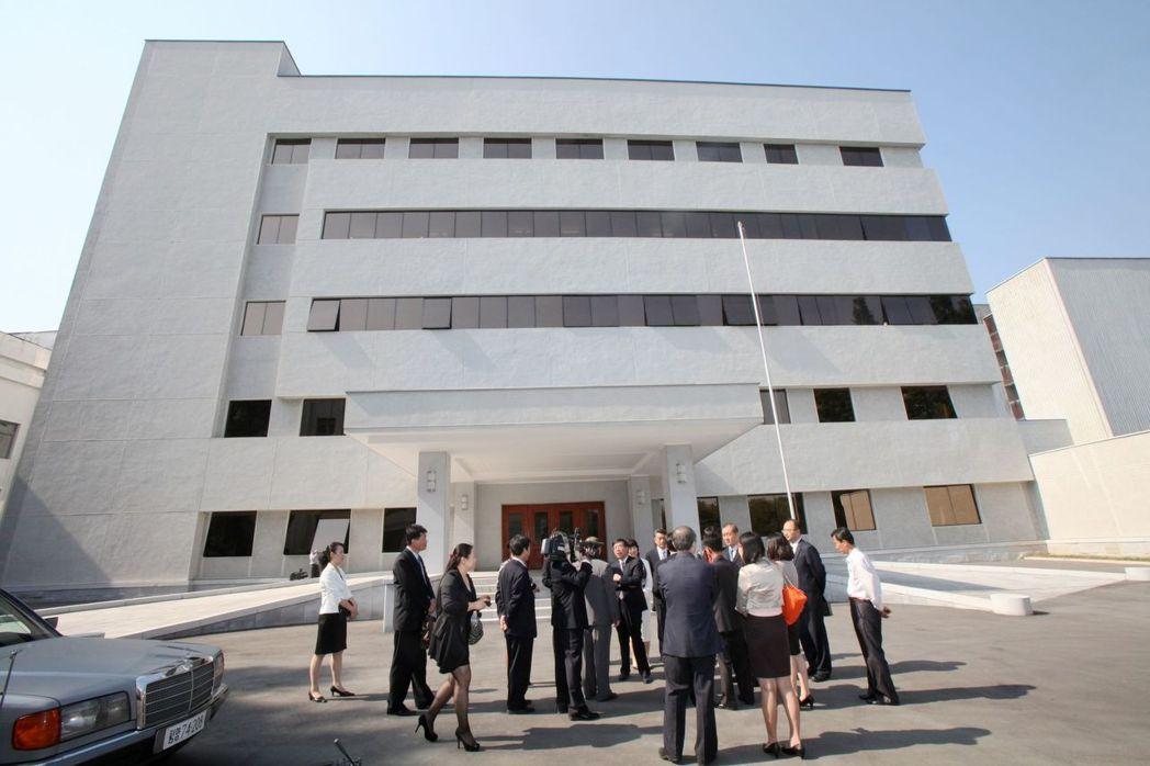 KCTV大樓入口。 (新華社)