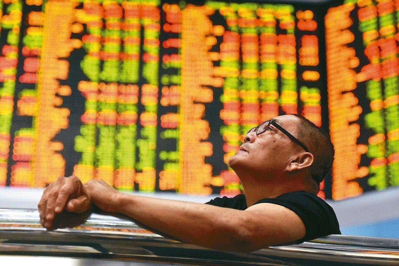 美股大跌牽動亞股,陸股下挫,港股失守27000關。 歐新社