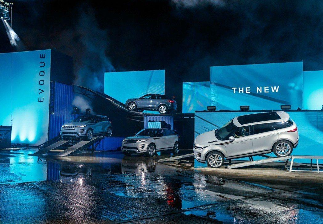 新世代Range Rover Evoque於上月22日在英國倫敦發表。 摘自La...
