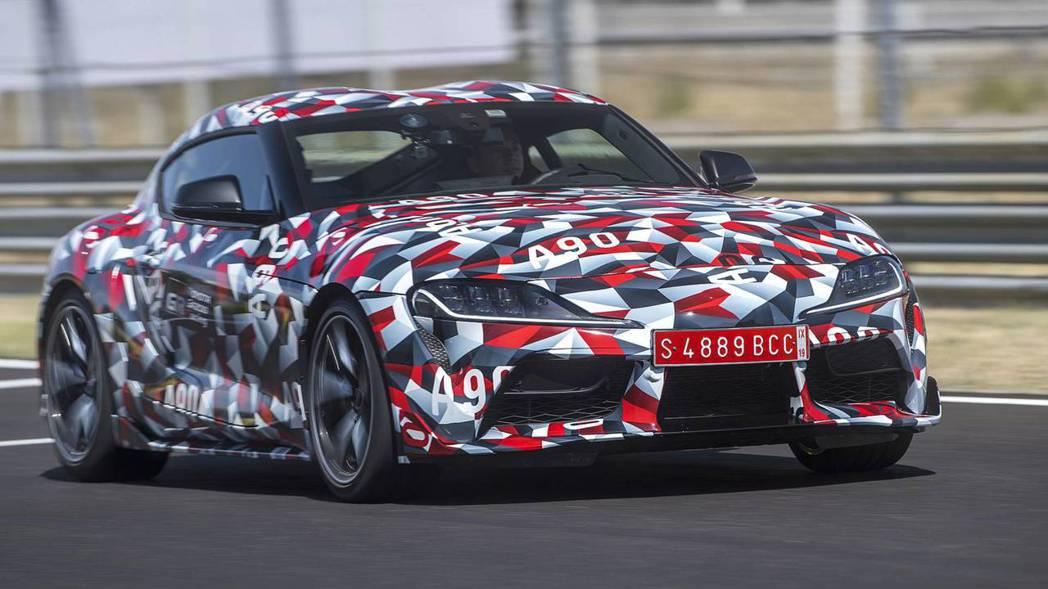 第五代Toyota Supra的發表將會是2019的重頭戲。 摘自Toyota