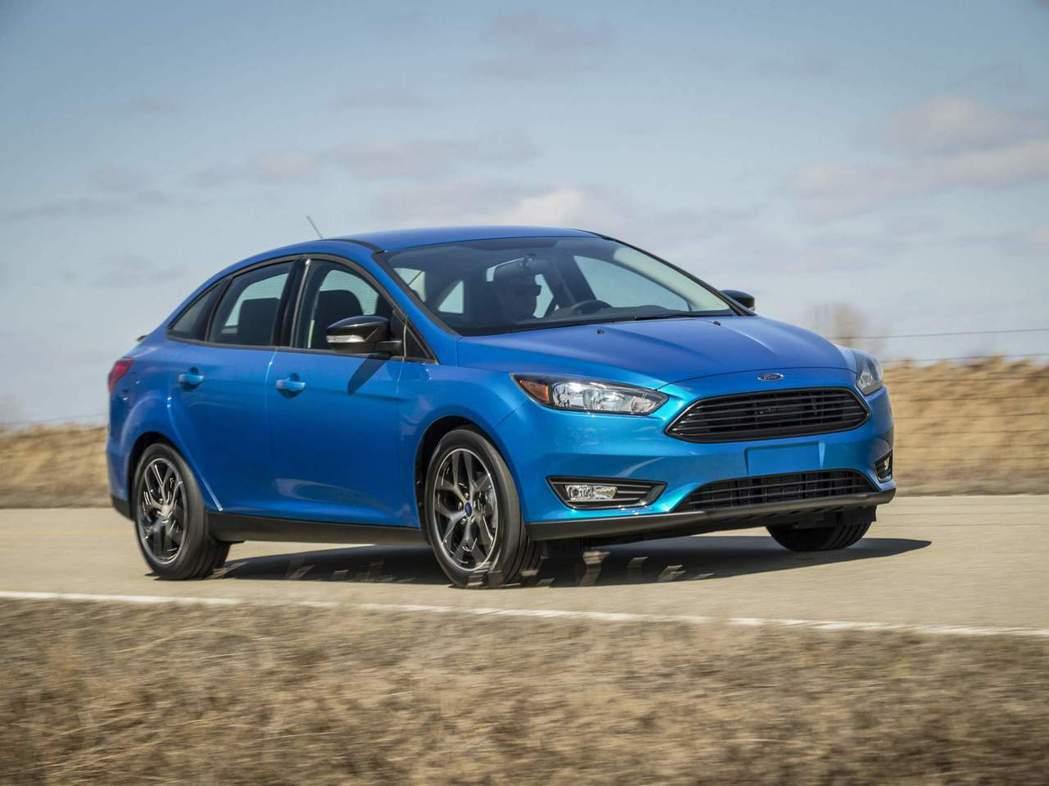 Focus Sedan目前全美剩12,000輛的庫存車。 摘自Ford
