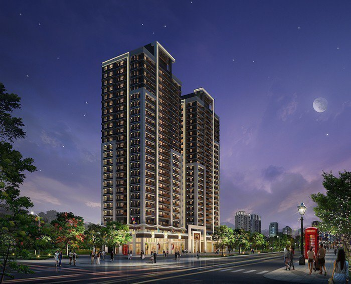 「新潤翡麗」24層雙子星超高層建築,建築退縮,留設寬敞人行步道,街廓近百米,具備...