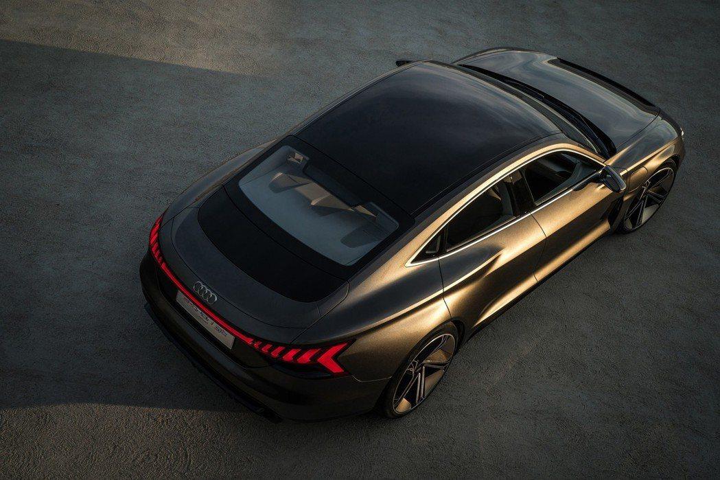 Audi e-tron GT Concept。 摘自Audi