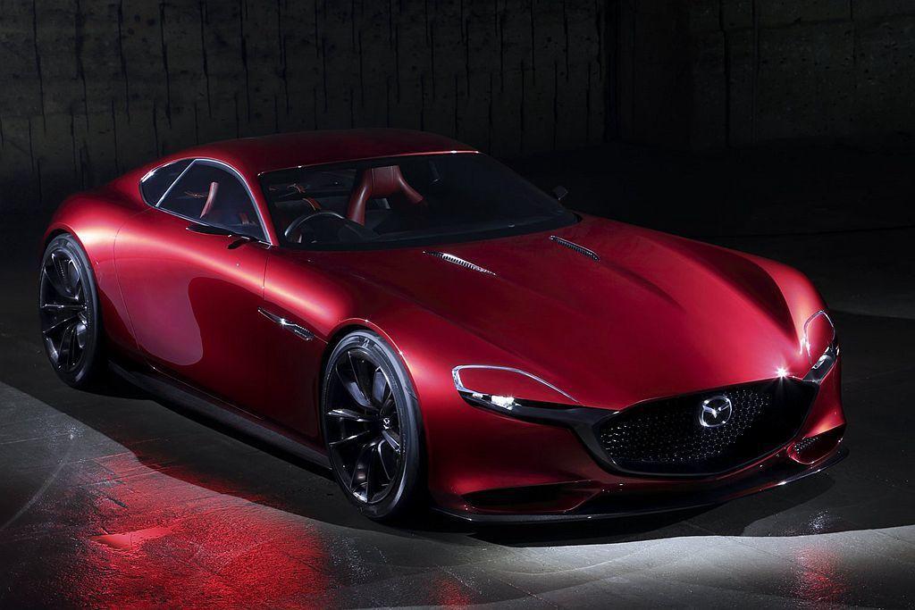RX Vision Concept概念車。 圖/Mazda提供