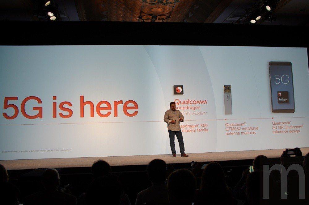 透過全新天線設計,搭配更小數據晶片設計,未來5G將能維持現有4G網路手機尺寸設計...