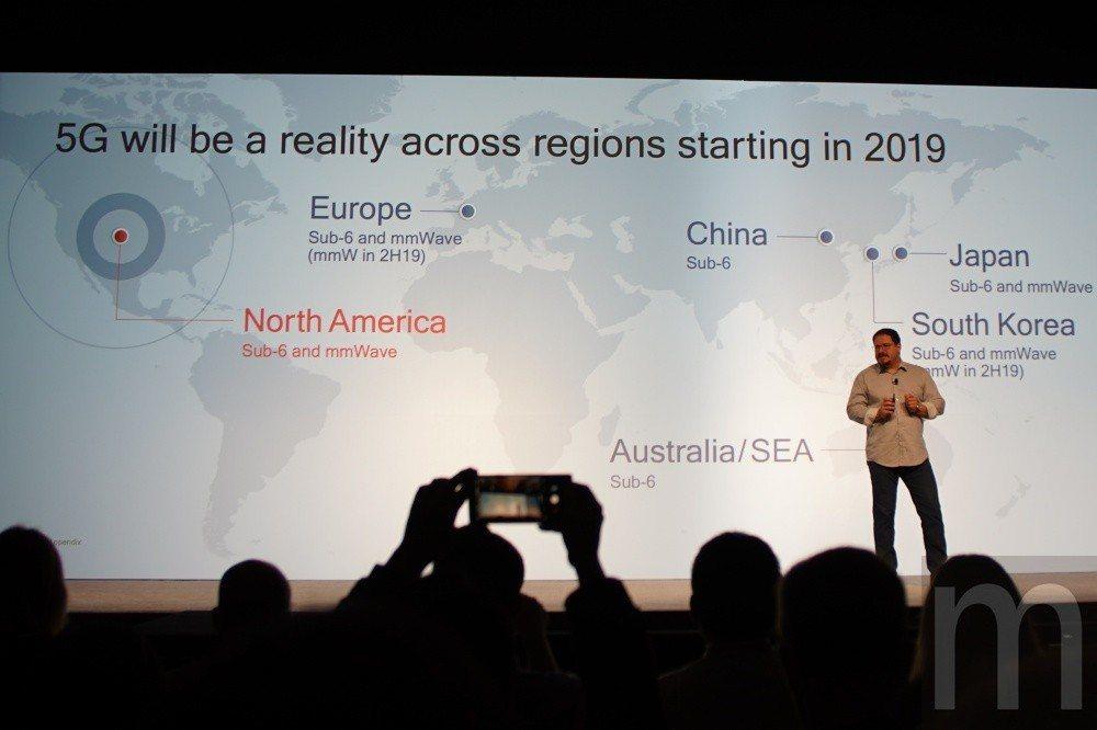 預期明年開始,5G網路技術將會在各地區開始正式推行