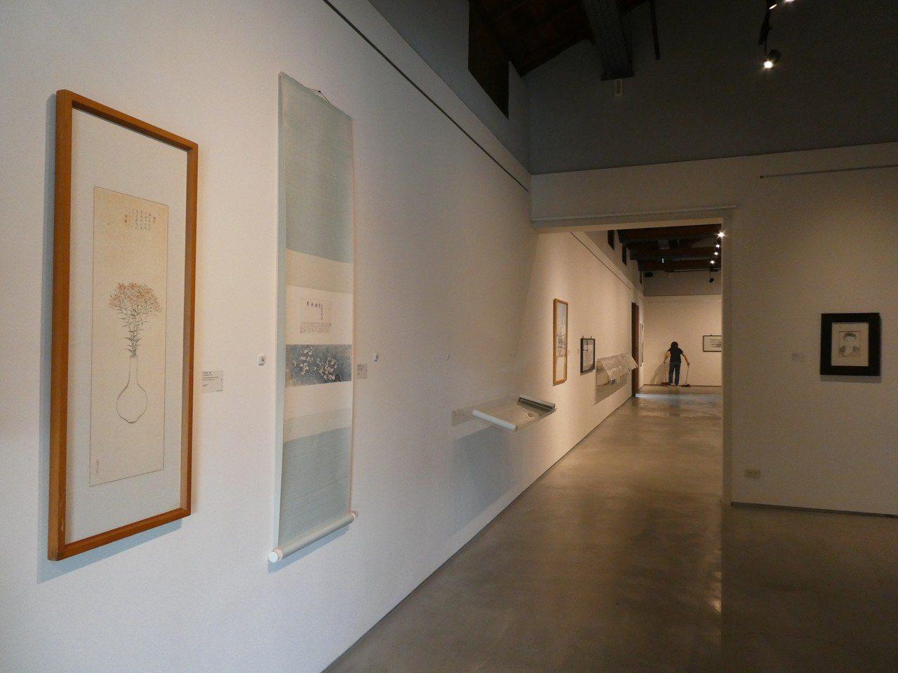 蔣勳私藏展-池上穀倉藝術館;台灣好基金會提供。