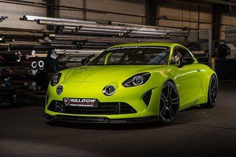 全球首組Alpine A110升級套件?看起來更帥了!