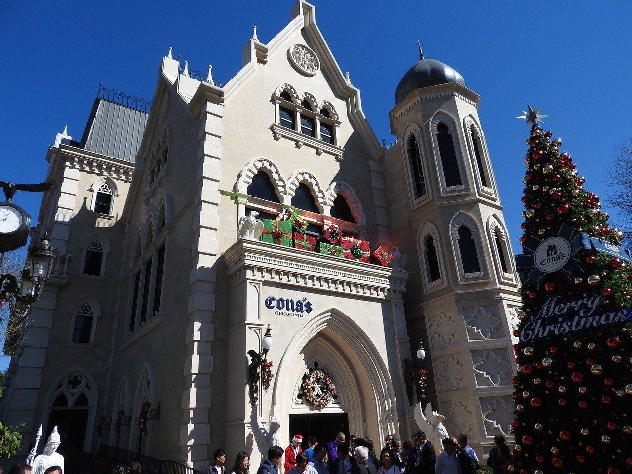 妮娜巧克力夢想城堡要將耶誕期間部分門票營收捐助弱勢童,為此安排不少活動盼提高收益...
