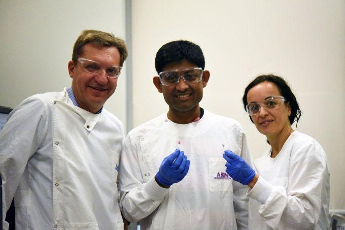 澳洲昆士蘭大學研究小組開發出一種廉價且簡易的癌症檢測方法,透過變色溶液顯現存於身...