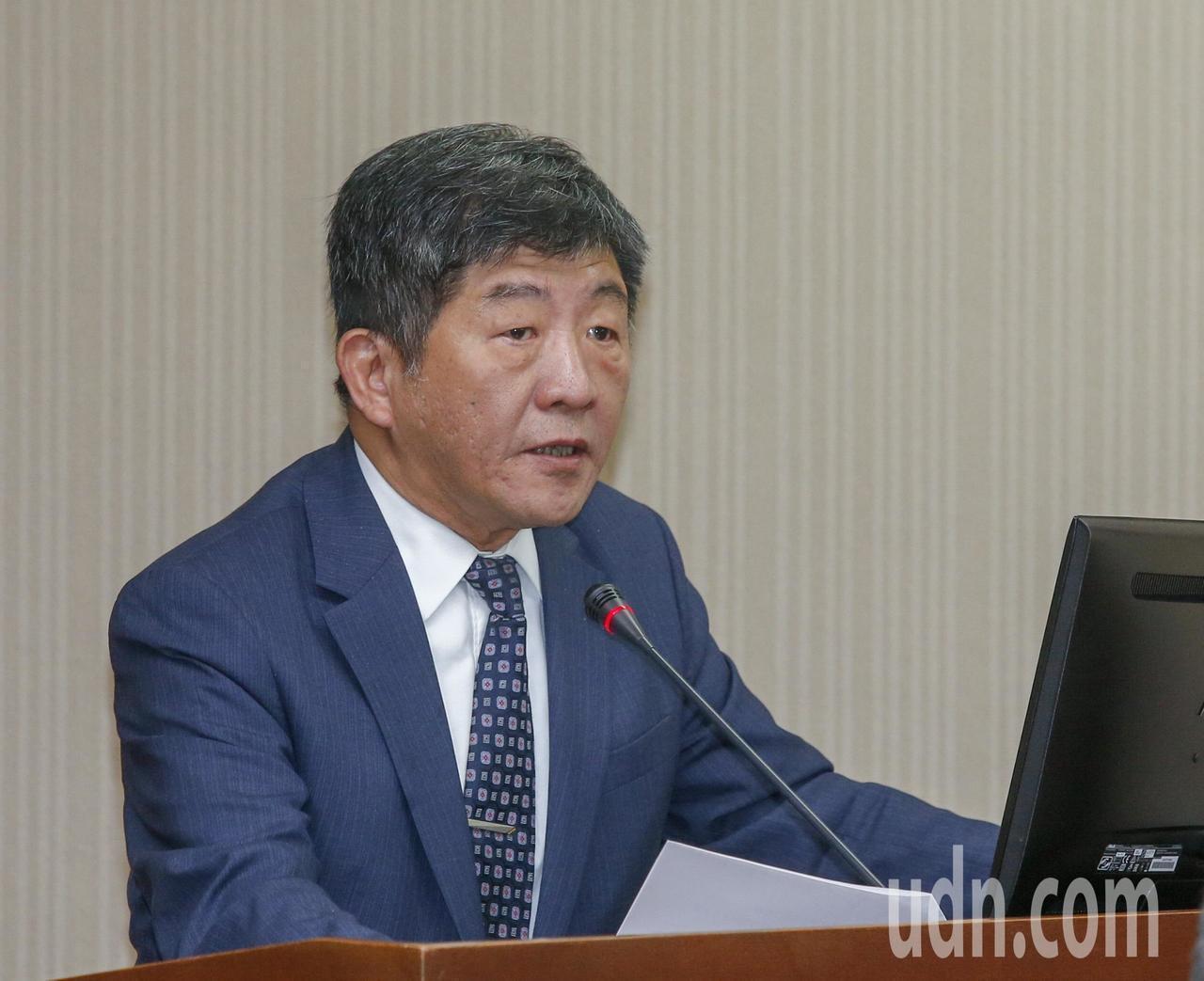 衛福部長陳時中。聯合報系資料照/記者鄭超文攝影
