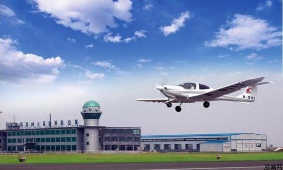 2020年中國計劃建成超500個通用機場。圖/翻攝自中國通用航空網