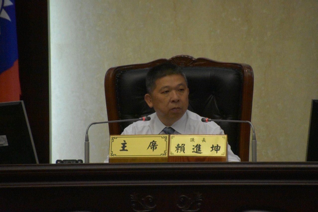 花蓮縣議會現任議長賴進坤未參選,即將暫別花蓮政壇。記者王燕華/翻攝