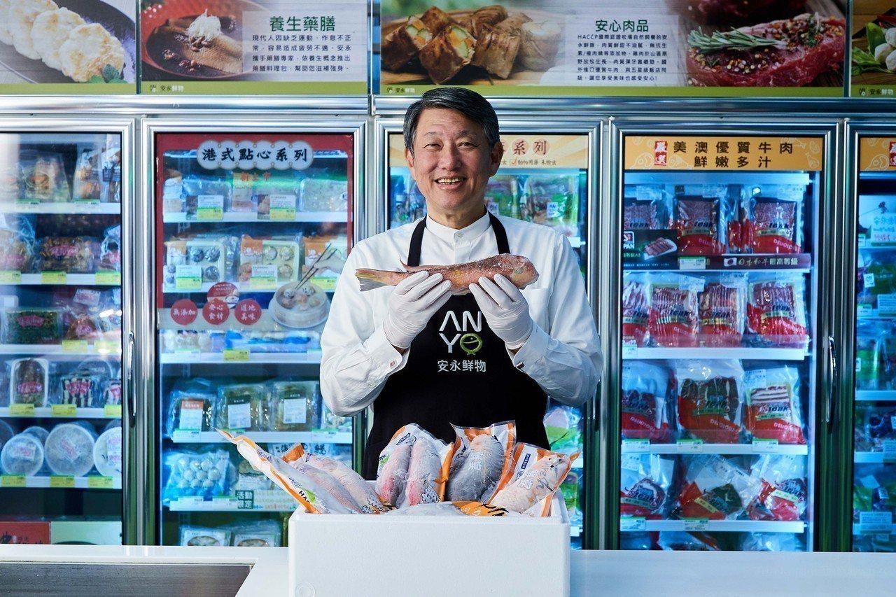 崇越集團暨安永鮮物創辦人郭智輝投入食品安全與健康事業。 圖/產業人物提供