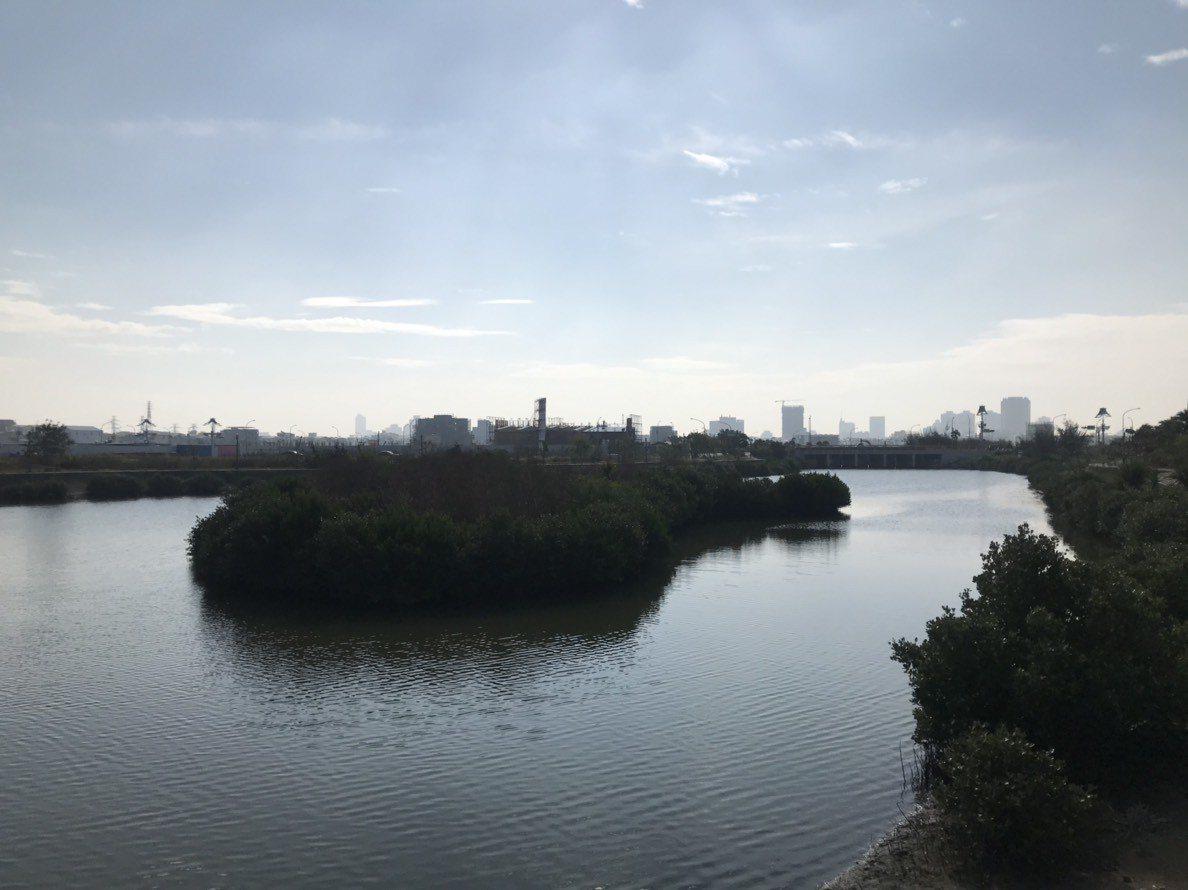 九份子重劃區是台南第一座綠能低碳重劃區。記者綦守鈺/攝影