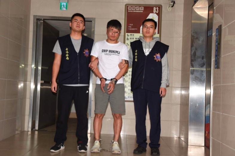呂嫌涉犯攜帶凶器強盜罪遭起訴。記者蕭雅娟/翻攝