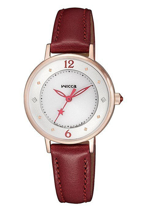wicca星願系列KP3-465-12腕表,6,500元。圖/Citizen提供