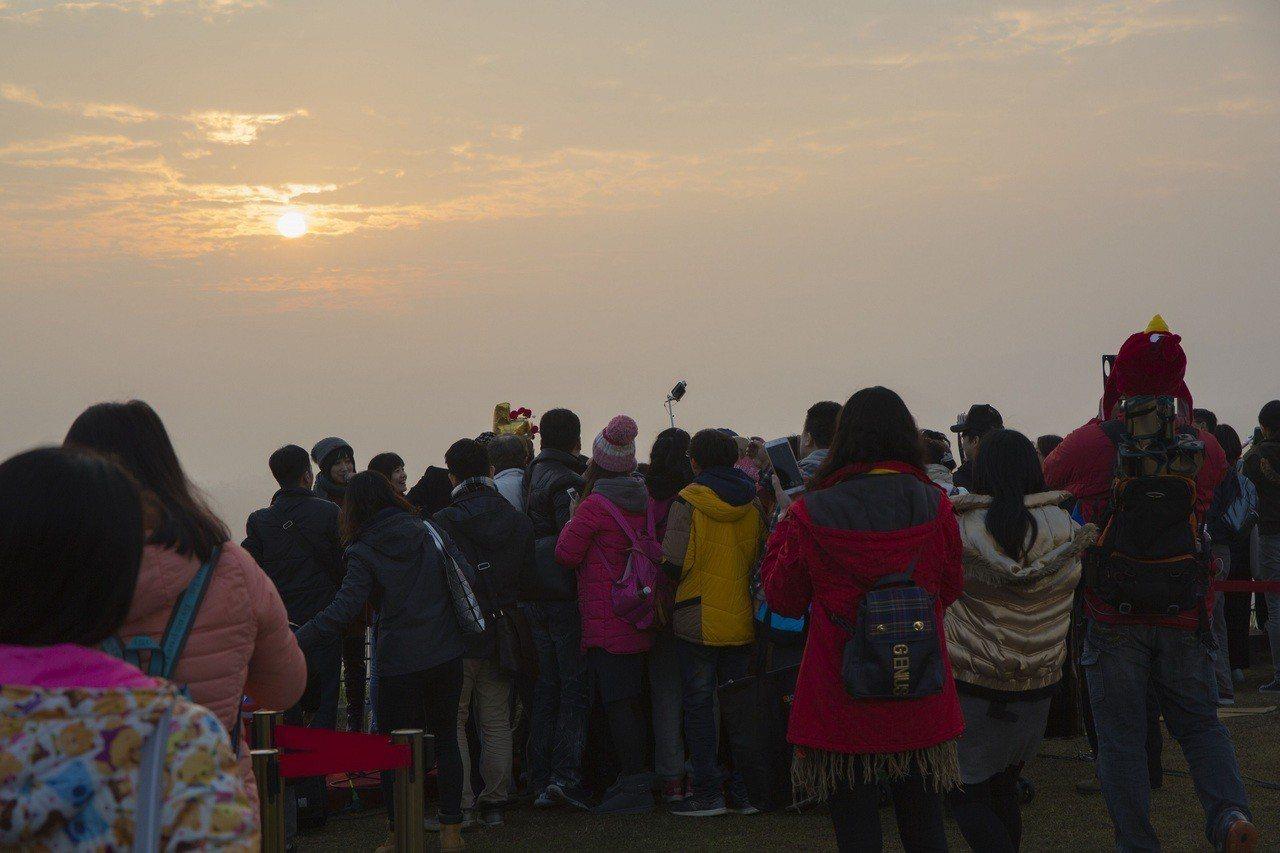 2019「二寮元旦迎曙光」活動,下周一起開放索票。圖/西拉雅國家風景區管理處提供