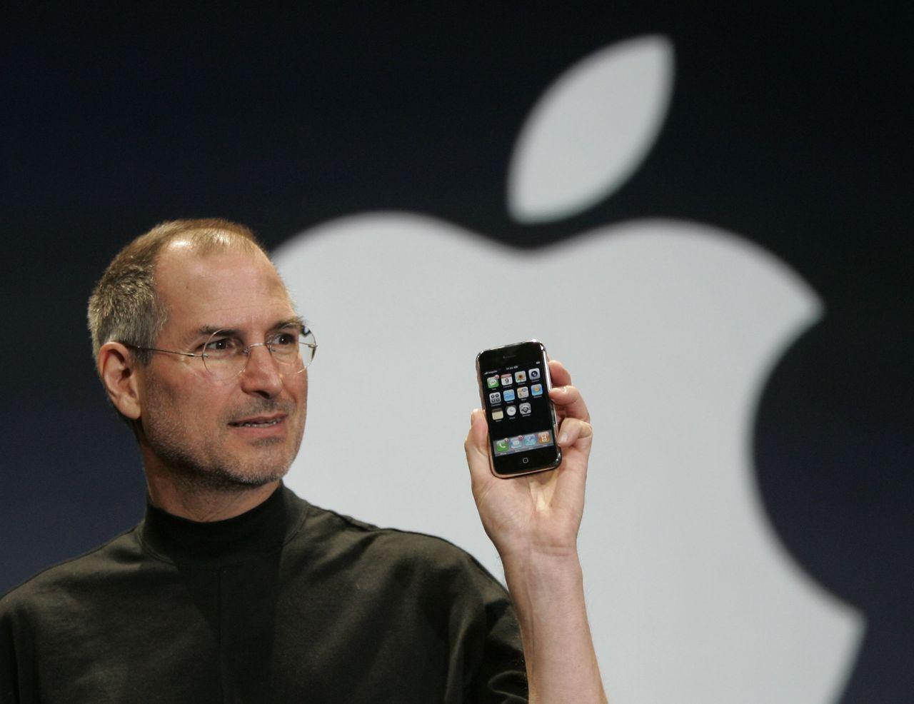 已故蘋果共同創辦人賈伯斯。美聯社