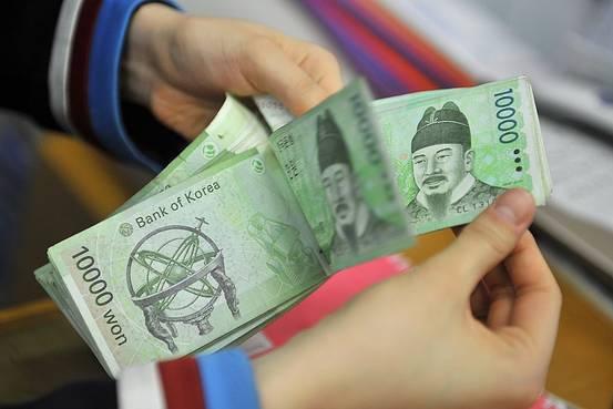 美中貿戰升溫是南韓金融體系現在面臨的最大風險。法新社