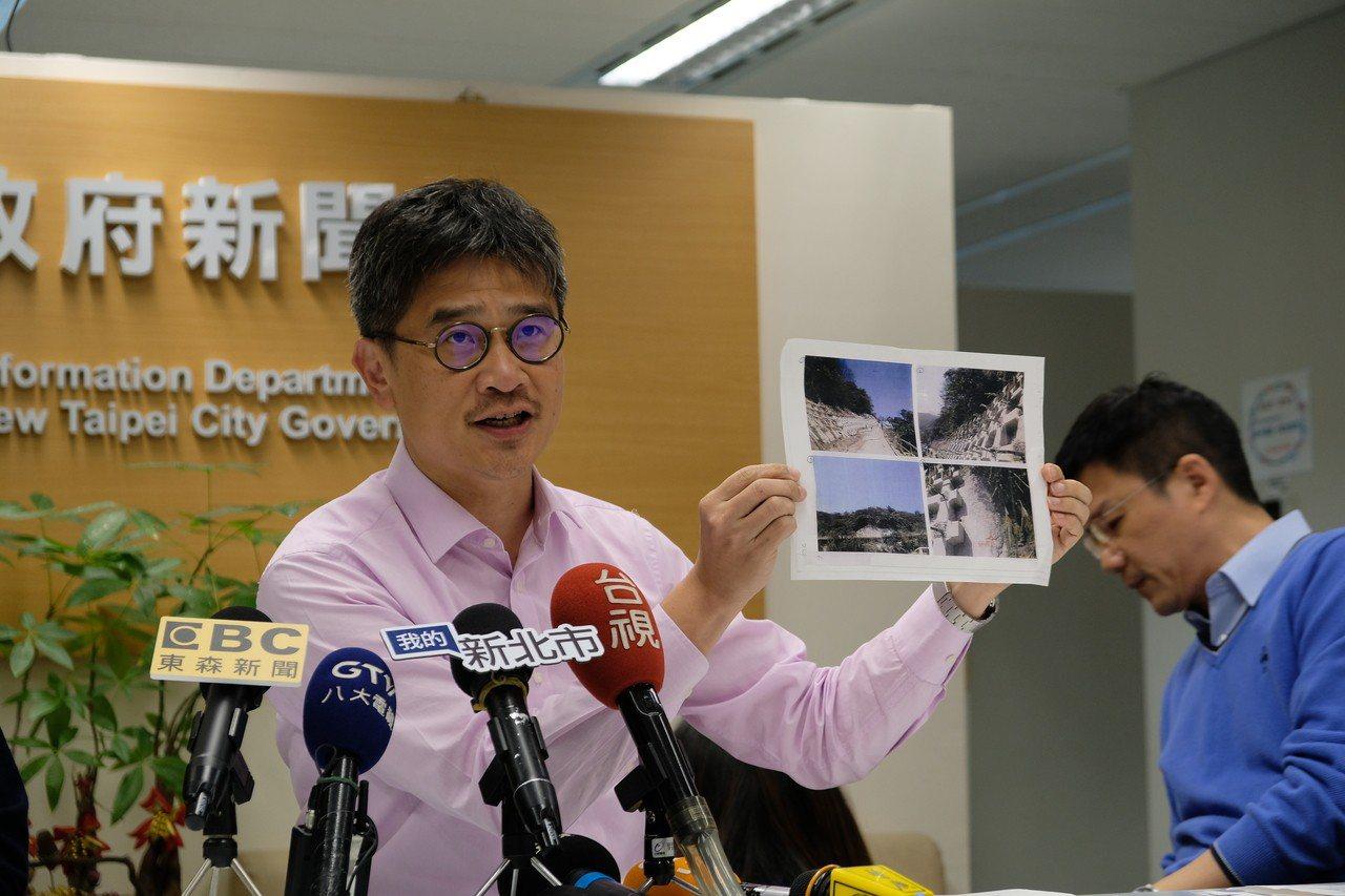 新北農業局長今天指出,台電2013年9月開始至今年3月20日止,台電歷經13次送...
