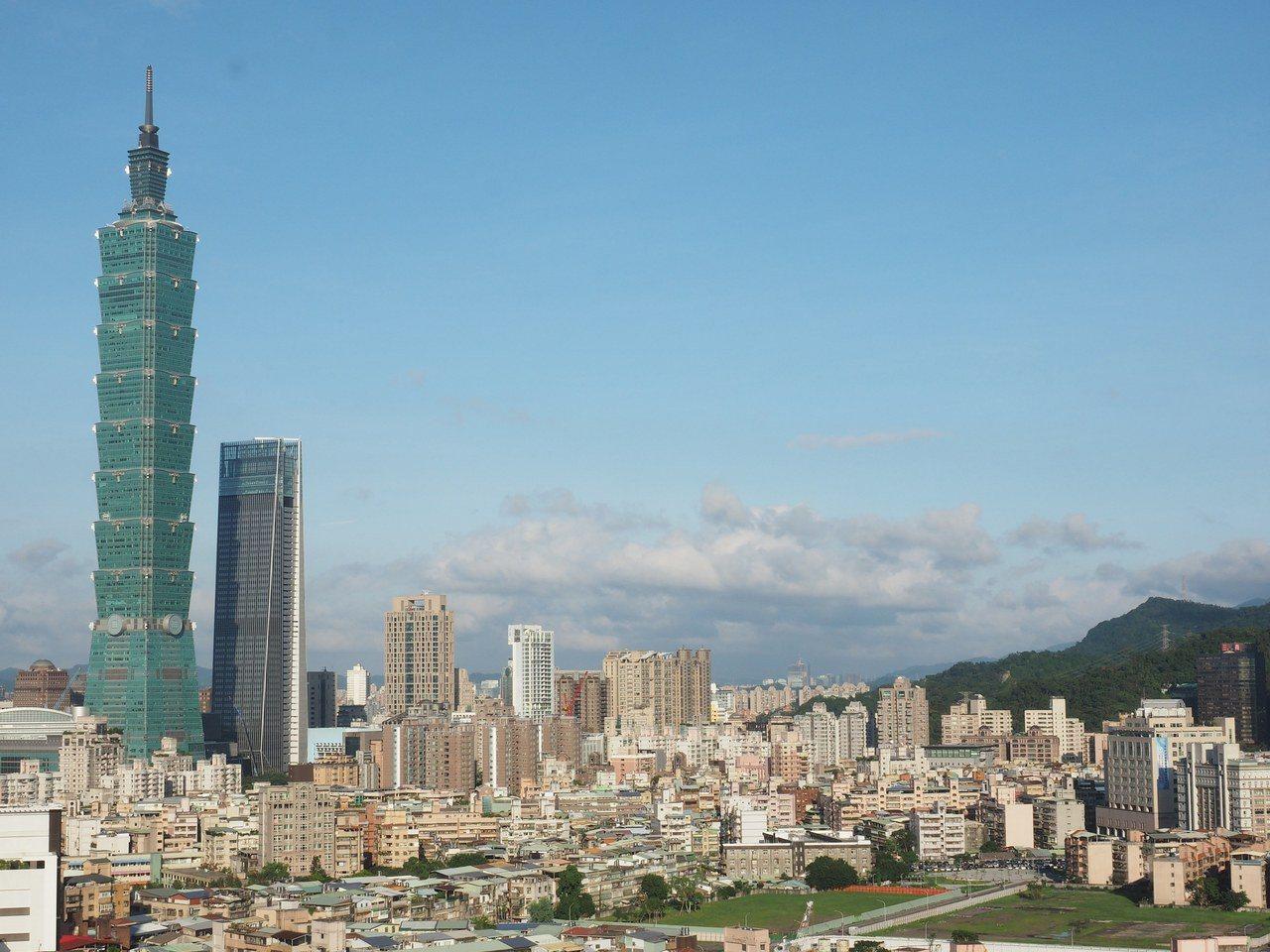 日本經濟研究中心的最新報告指出,台北2030年的人均GRP在77座美國、亞洲城市...