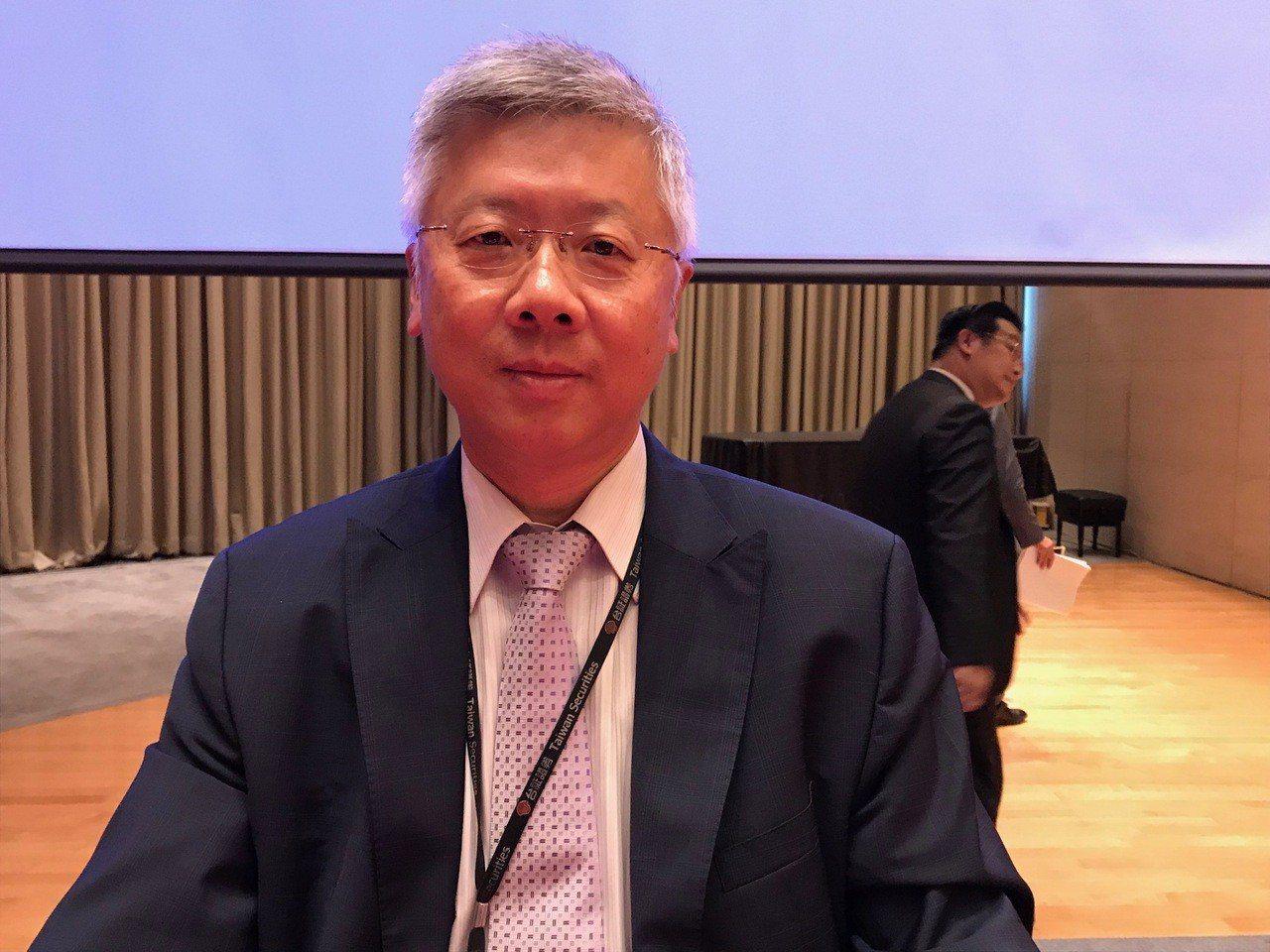 台新金控總經理林維俊提醒明年不但變數多,且變數都很重大。記者陳怡慈/攝影