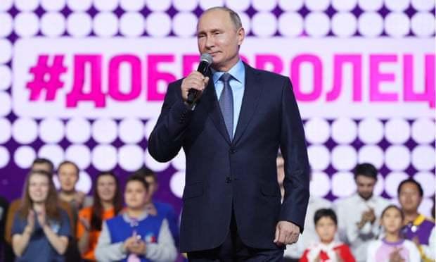 普亭5日在莫斯科回嗆美國,並威脅華府若退出條約,將展開軍備競賽。歐新社