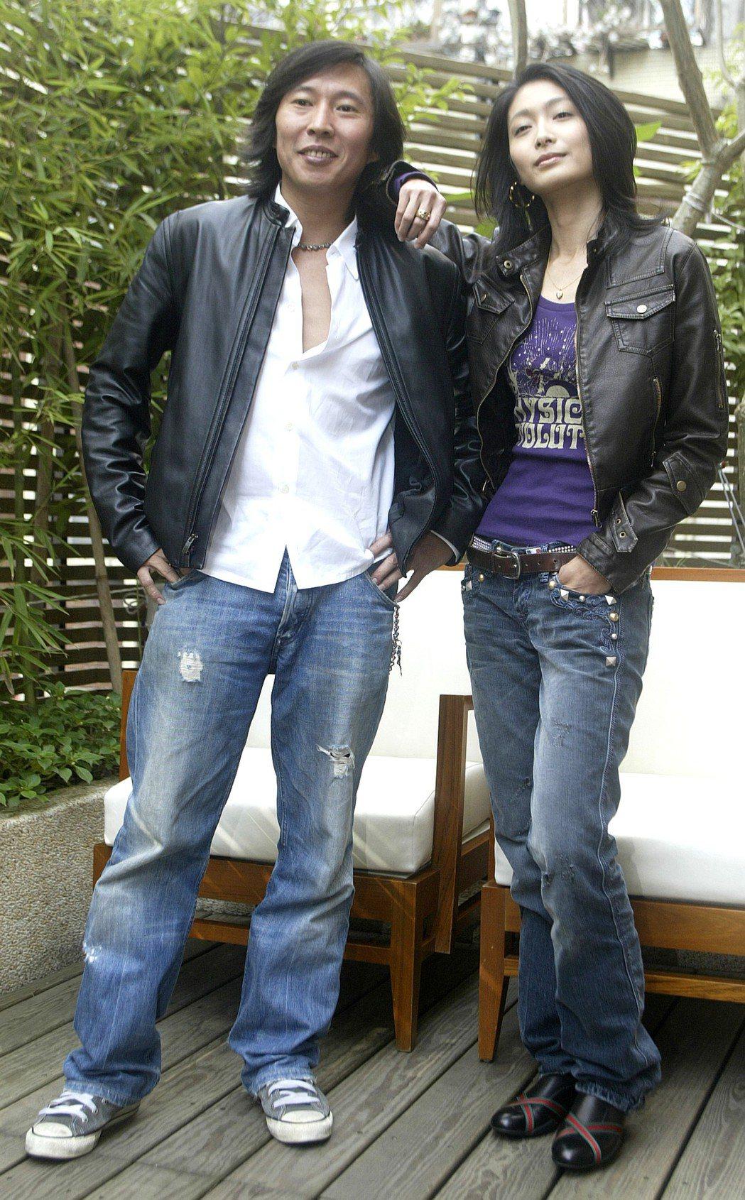 鈕承澤(左)過去在拍攝「情非得已之生存之道」時,曾傳出為讓戲逼真,強逼柯奐如(右...