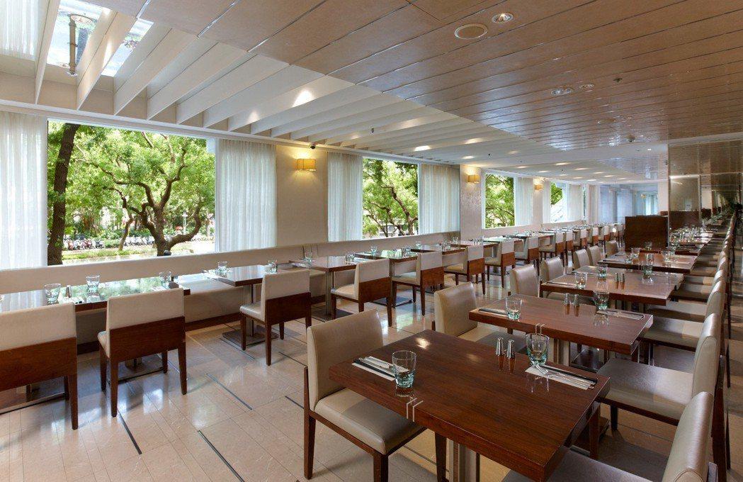 台北老爺-Le Caf'e咖啡廳。台北老爺/提供