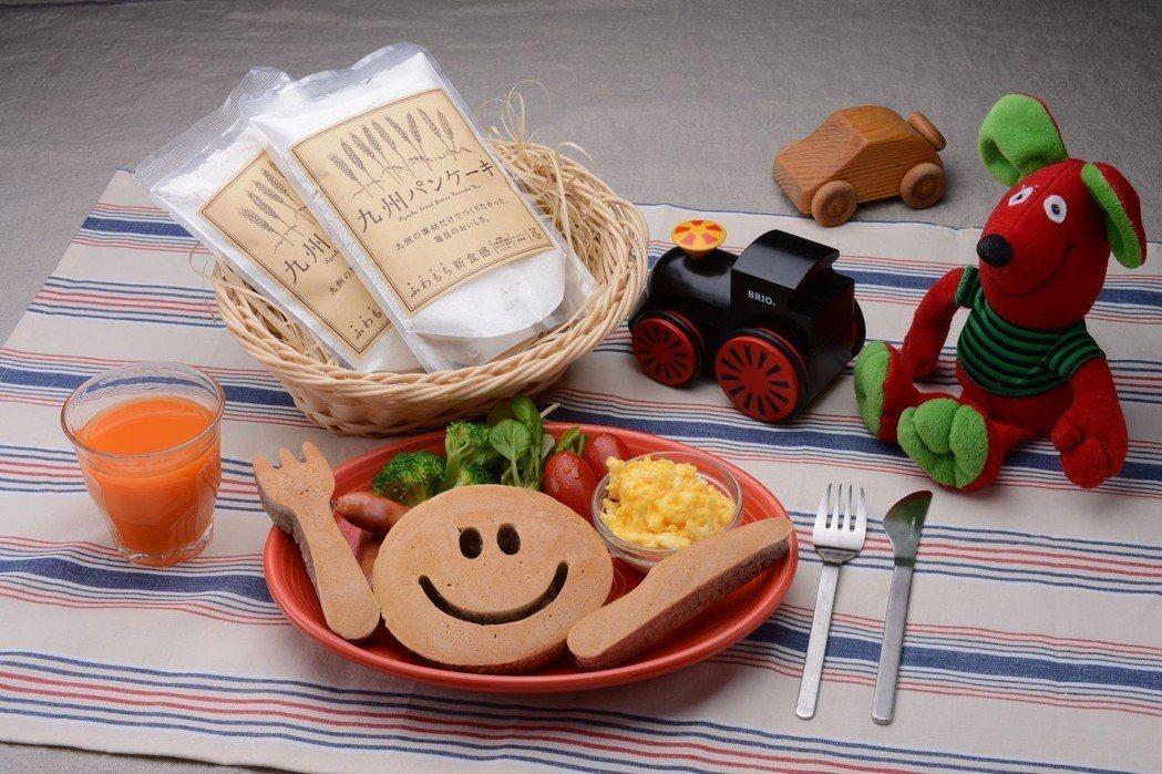 透過鬆餅DIY公益活動,傳遞給孩童滿滿的幸福能量。  承億集團 提供