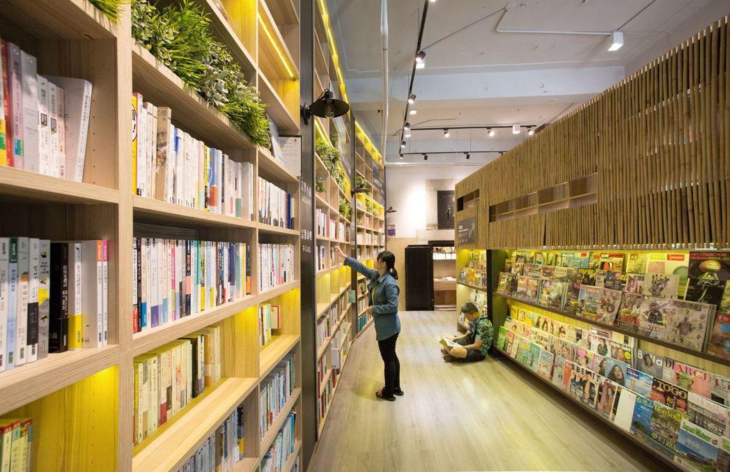 屬於嘉義人的複合式書店 「承億小鎮慢讀」。    承億集團 提供